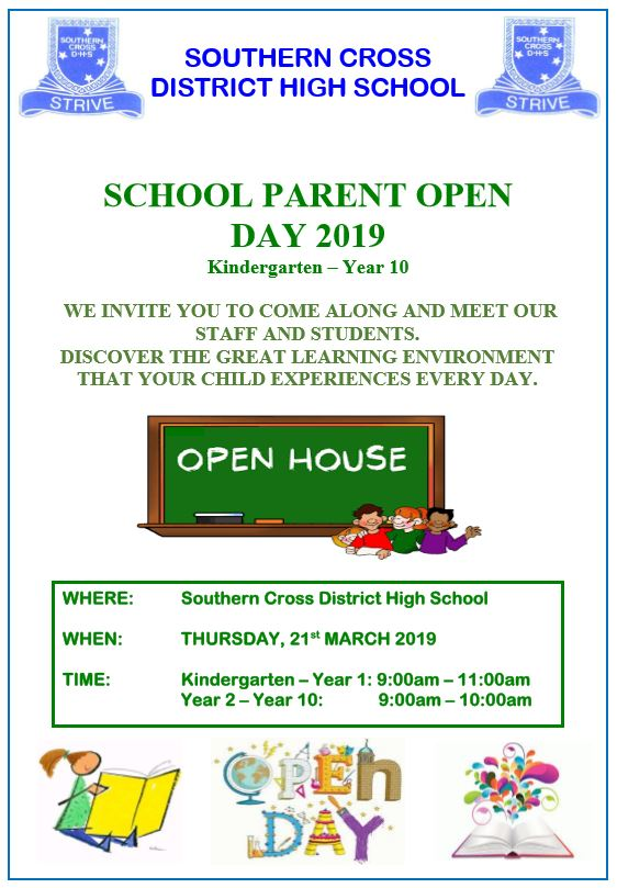 Parent Open Day